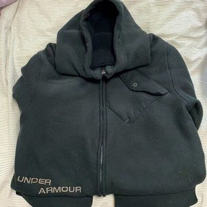 Under Armour zip up hoodie